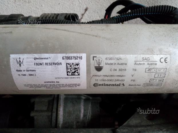 Ricambi usati Maserati Levante 6 - Ricambi Usati Maserati Levante 3.0 d 275 cv